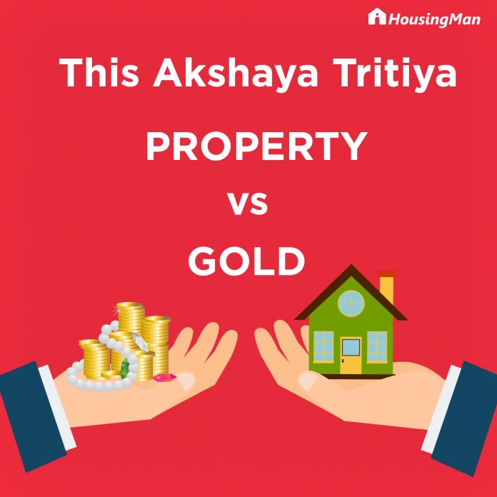 Akshaya Tritiya Property or Gold investment