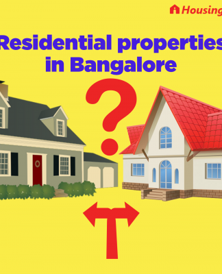 Residential properties in Bangalore: Which areas are the best to invest?
