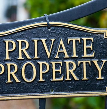 How to deal with property encroachment