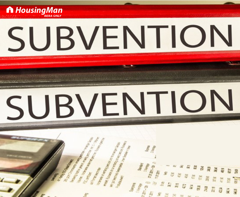 What is subvention scheme & how does it work in residential real estate?