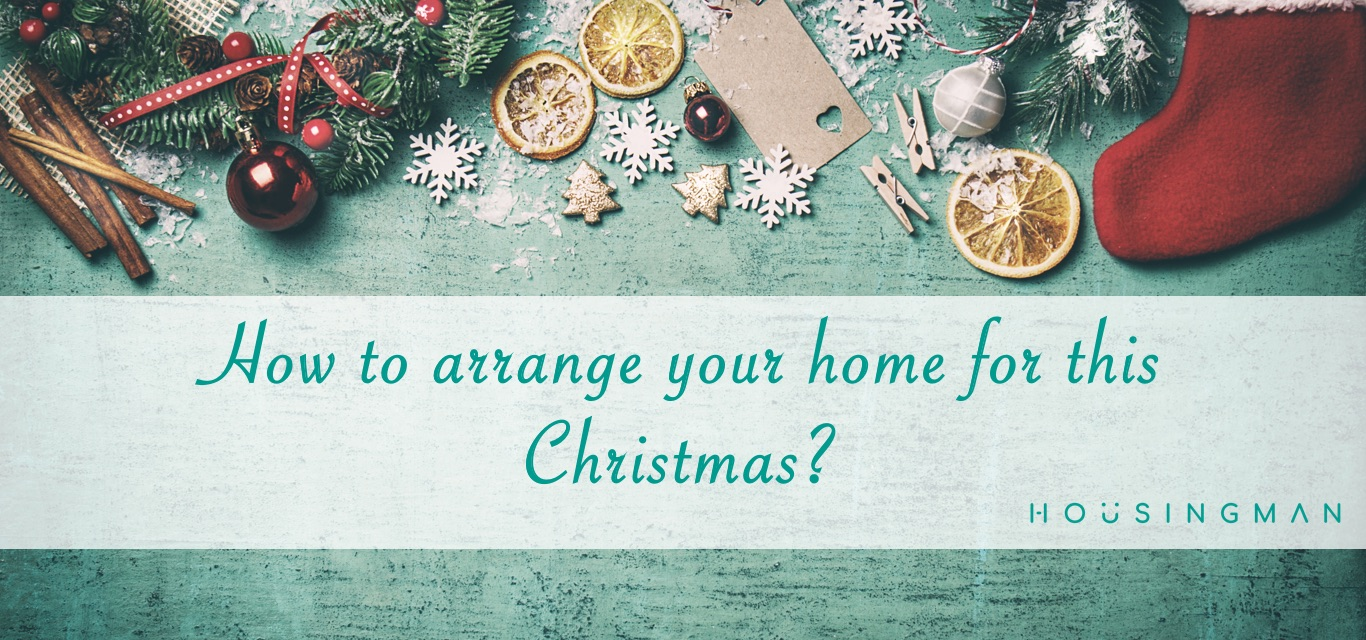 arrange home for christmas