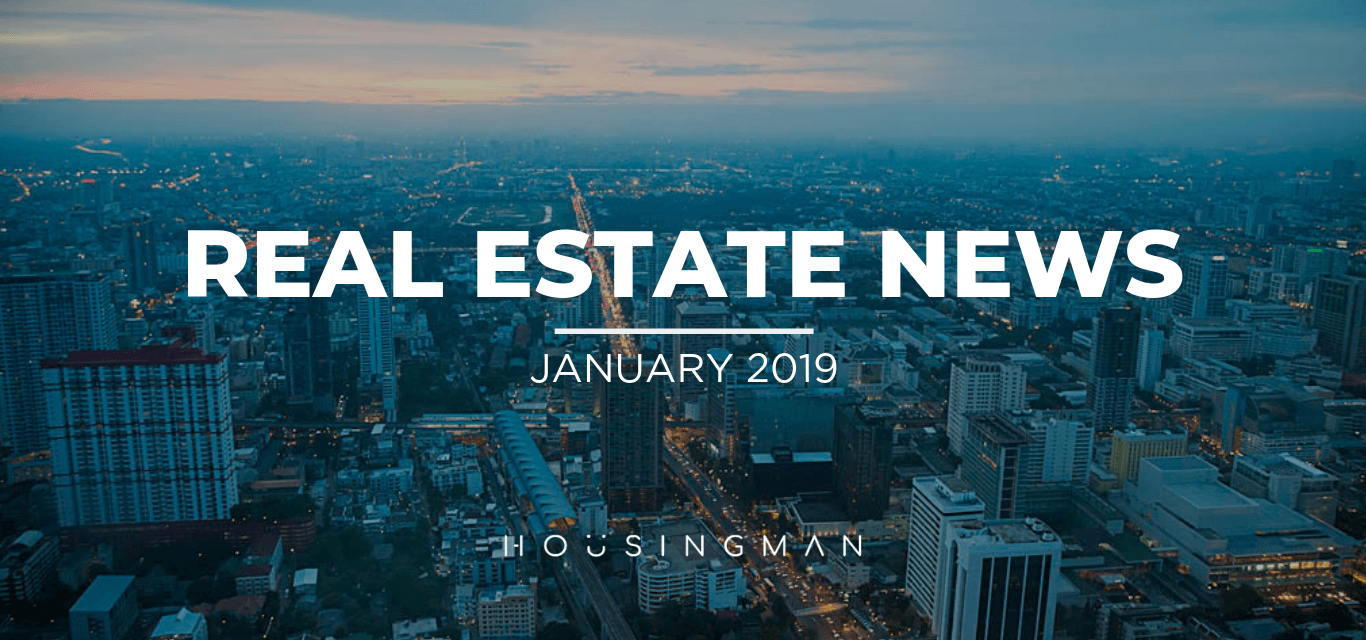 Real Estate News January 2019