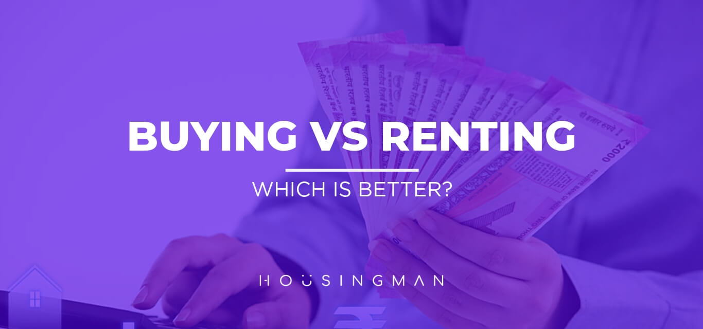 own home or renting