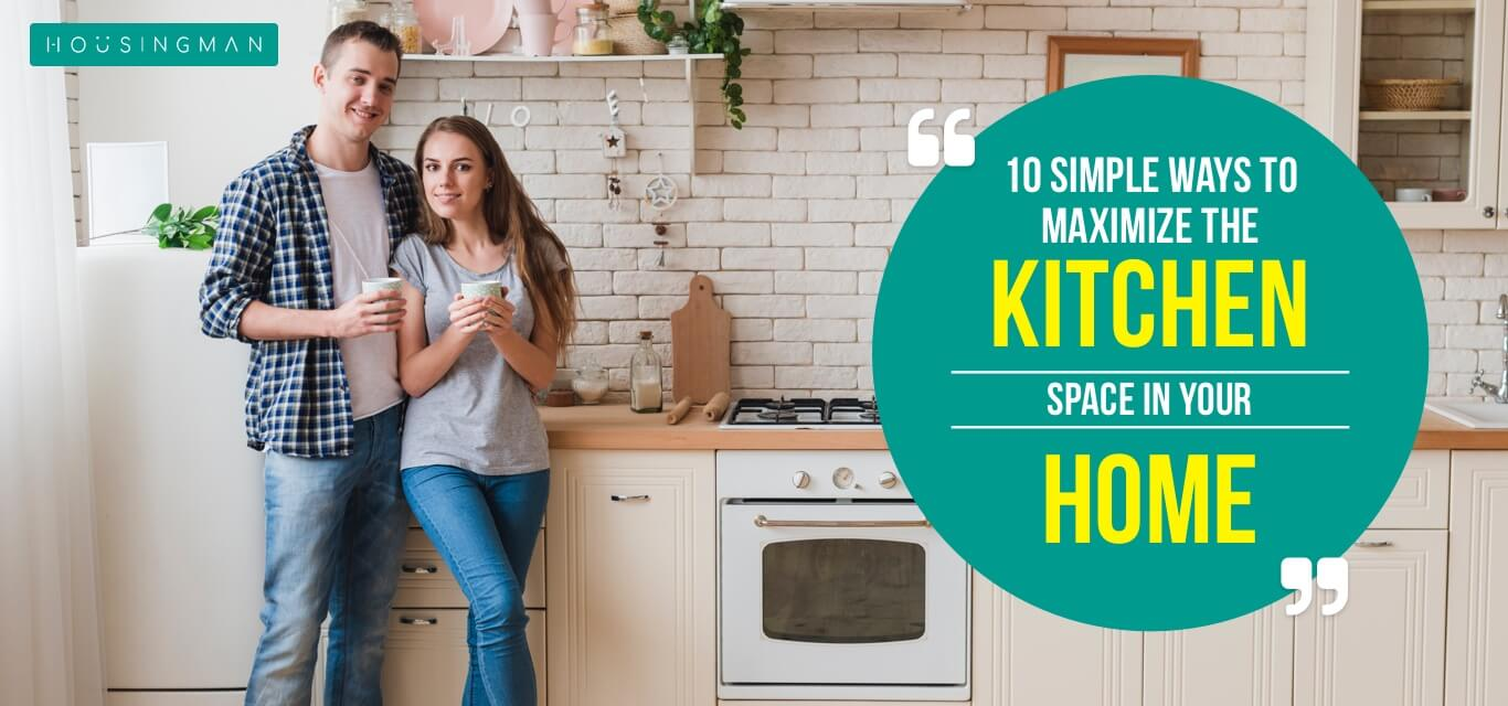 maximize the kitchen space